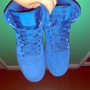Jordan 1 Blue suede